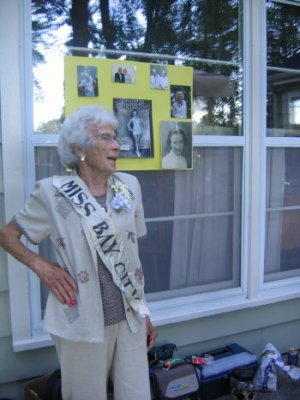 Miss Bay City at 90