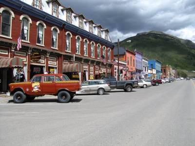Main Street in Silverton