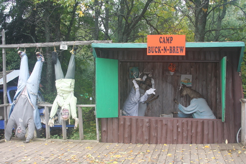 Deer camp at Da Yooper Tourist Trap